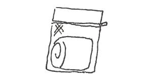 洗濯ネットマーク