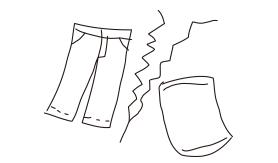 素材分け洗濯イメージ