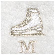 スケート靴(シルバー)