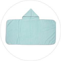 フード付きバスタオル