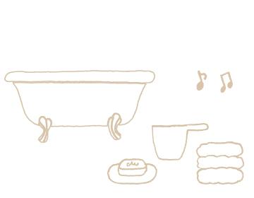 赤ちゃんの沐浴イメージ