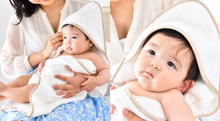 今治タオルの世界一のタオルおくるみイメージ
